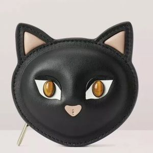 Cats north south coin purse nwt